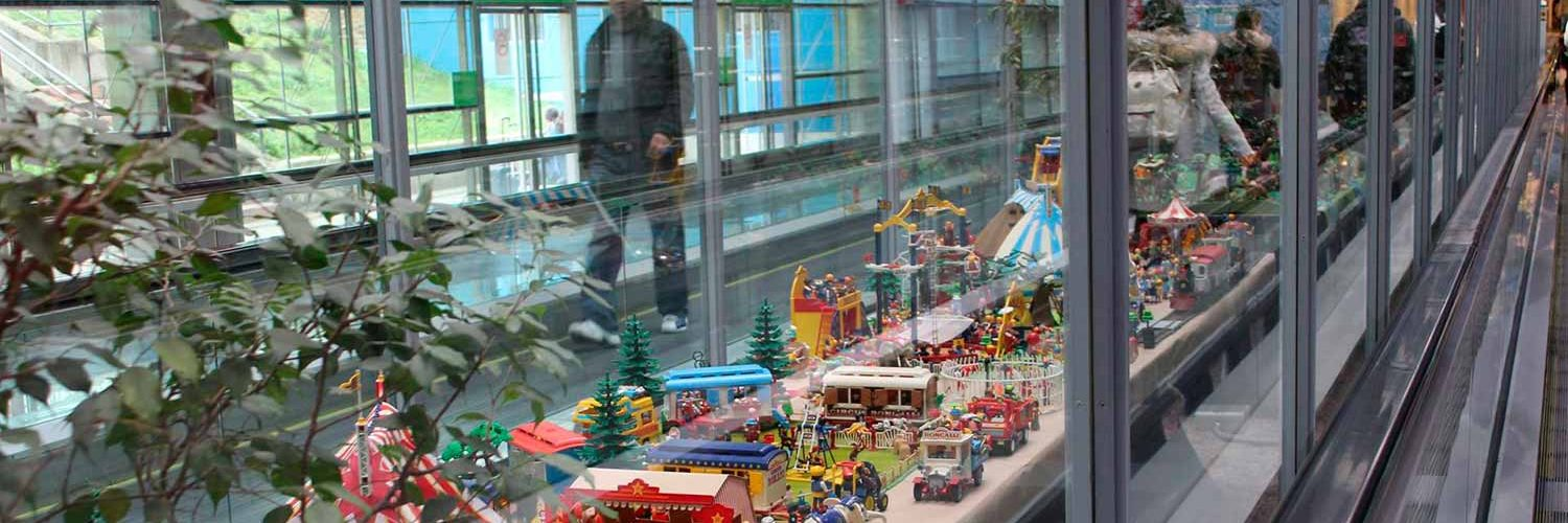 Clicks de Playmobil en Madrid-Barajas