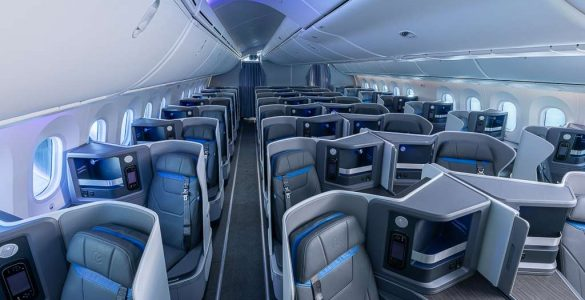 Clase Business de Air Europa
