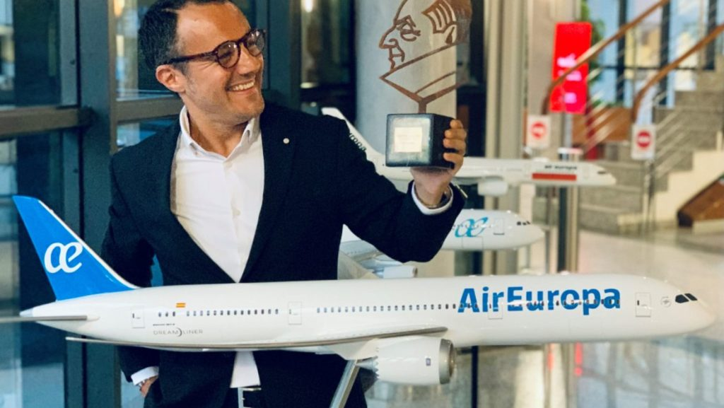 Premio Chicote a Air Europa